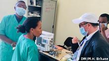 Coronavirus isolation center in Mekelle Wo: Mekelle, Ethiopia Wann: 18. 03. 2020 Author: Million Haileselassie Brhane (DW)