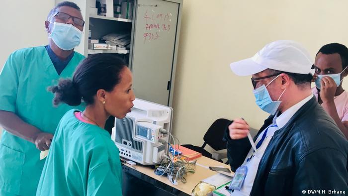 Coronavirus in Äthiopien Isolationszentrum in Mekelle (DW/M.H. Brhane)