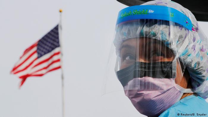 США вышли на третье место в мире по числу зараженных коронавирусом |  Новости из Германии о событиях в мире | DW | 22.03.2020