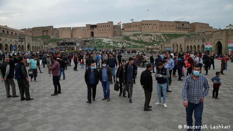 BG Coronakrise | vorher - nachher | Irak Altstadt von Erbil (Reuters/A. Lashkari)