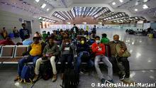 BG Coronakrise | vorher - nachher | Irak Flughafen Najaf