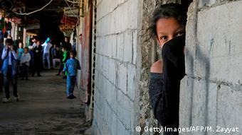 Libanon Sidon | Flüchtlinge aus Syrien (Getty Images/AFP/M. Zayyat)