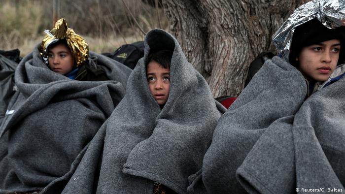 Griechenland Lesbos | Flüchtlingskinder aus Afghanistan