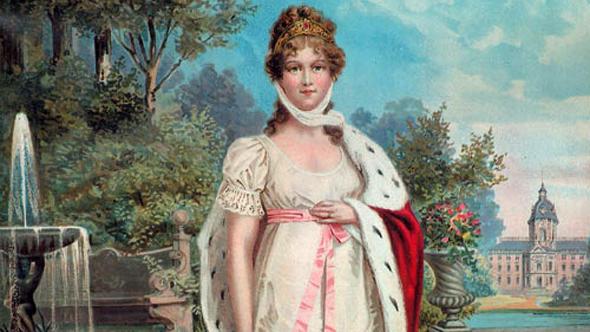 Идеальная королева (лубок конца 19 века)