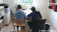 Schule zu Hause in den Corona-Zeiten Copyright: D. Dragojevic/DW