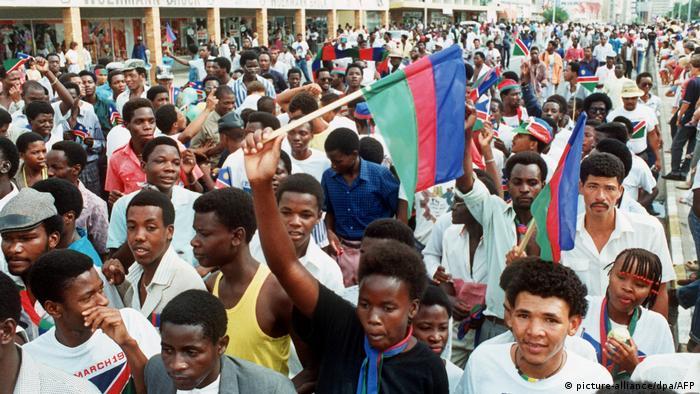 Unabhängigkeits-Feier in der Hauptstadt Windhuk