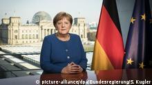 Deutschland Berlin | Coronavirus | Ansprache Angela Merkel, Bundeskanzlerin