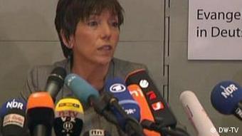 Кесман заявила о своем уходе на пресс-конференции в Ганновере