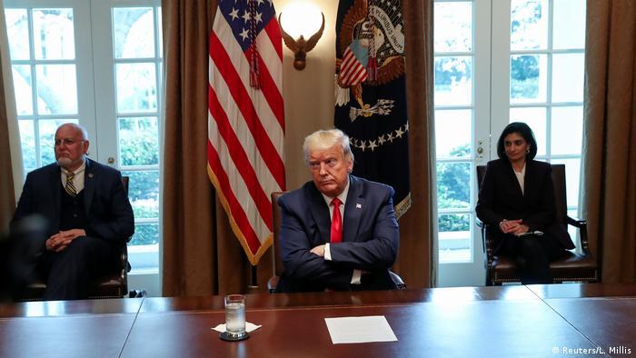 USA Washington | Coronavirus | Donald Trump, Präsident
