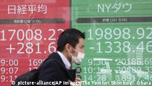 Neuartiger Ausbruch des Coronavirus | Japan | Nikkei Stock Average