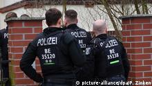 Deutschland Razzien Reichsbürger-Gruppe - Berlin