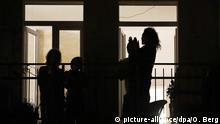 Deutschland Coronavirus Köln Applaus für Helfer