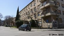 Bosnien-Herzegowina Coronavirus Infektionsklinik in Mostar