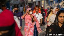 Coronavirus pabic grips Dhaka, Bangladesh. Keywords: Coronavirus, Dhaka, Bangladesh Copyright: Mortuza Rashed