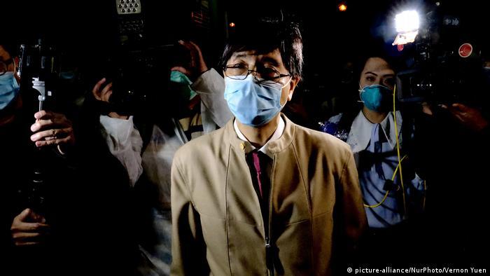 Hong Kong, en medio de la crisis por el coronavirus.