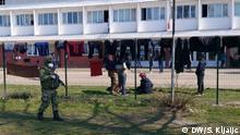 Serbien Kikinda Coronavirus Empfangszentrum für die Migranten