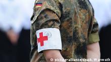 Deutschland Corona-Krise | Sanitäter der Bundeswehr