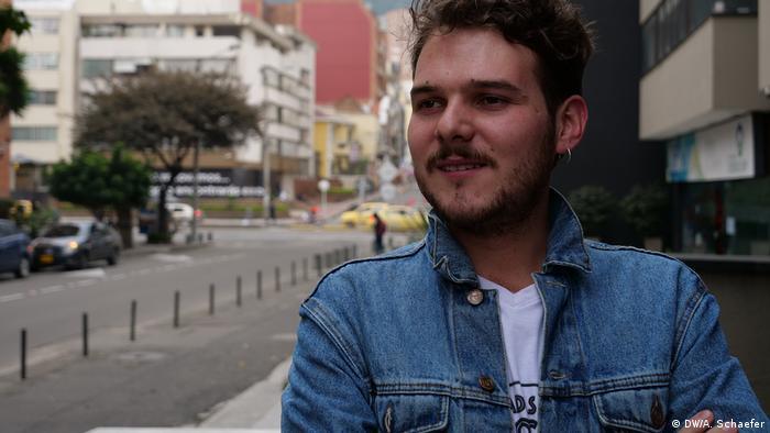 Sebastián Lanz, cofundador de la ONG Temblores.