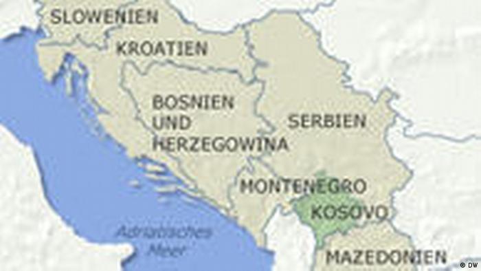 Kosovo Karte Europa.Kosovo Provoziert Handelsstreit Mit Serbien Aktuell Europa