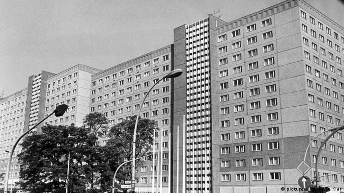 Stasi-Zentrale in Ost-Berlin -1985