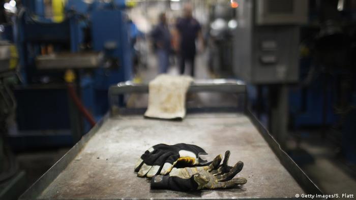 Symbolbild: US-Arbeitsmarkt - Arbeiter