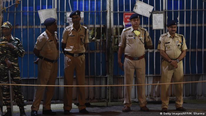 Indien: Vier Männer wegen Vergewaltigung einer Studentin hingerichtet (Getty Images/AFP/M. Sharma)
