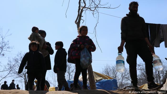 Türkiye-Yunanistan sınırındaki sığınmacılar
