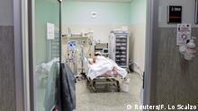 Coronavirus in Italien Cremona Patient in Krankenhaus