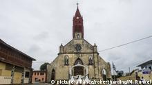 Church, Libreville, Gabon, Africa   Verwendung weltweit, Keine Weitergabe an Wiederverkäufer.