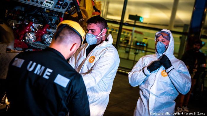 مستشفى الطوارئ العسكرية أومى في برشلوة الإسبانية