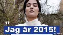 Atoosa Farahmand Social Media Kampagne Jag är 2015