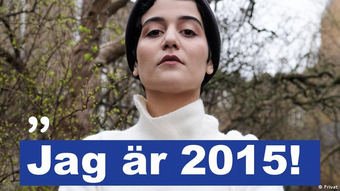 Atoosa Farahmand, who started the social media campaign Jag är 2015