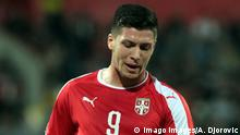 Der serbische Fußballspieler Luka Jovic