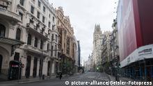 Corona in Madrid (picture-alliance/Geisler-Fotopress)