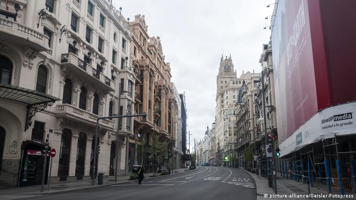 Corona in Madrid