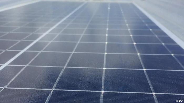 Foto simbólica de un panel solar