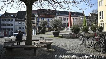Coronavirus in Freiburg (picture- alliance/dpa/P.Seeger)