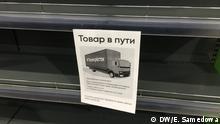 Russland Buchweizen Nahrungsmittelknappheit