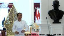 Der indonesische Präsident Joko Widodo