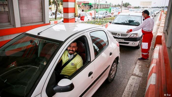 Viel Verkehr trotz Corona-Krise im Iran zum Nouruz-Fest (frei)