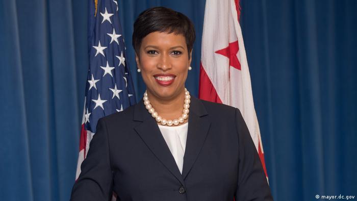 Muriel Bowser - Bürgermeisterin von Washington DC