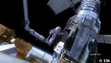 Projekt Zukunft, Materialverschleiss im Weltall