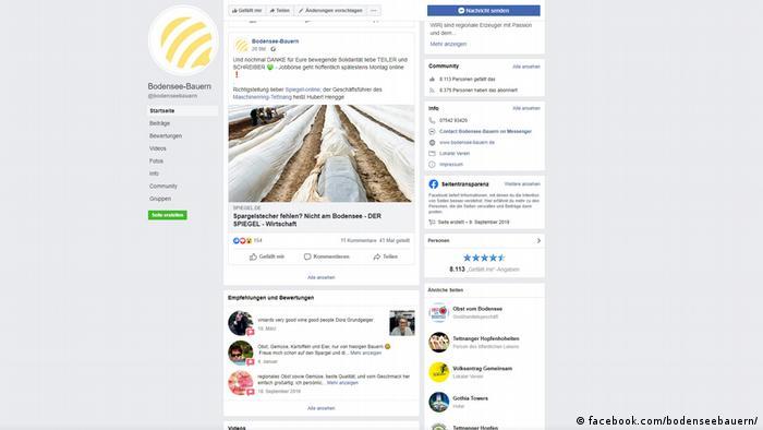 Apel młodych rolników na FB