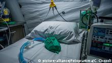 Italien Cremona | Coronavirus: Cremona Hospital