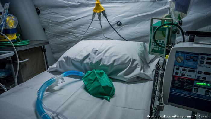 Italien Cremona   Coronavirus: Cremona Hospital