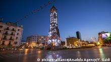 Tunesien Tunis   Coronavirus   leere Straße