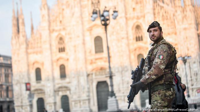 Italien Milan | Coronavirus: Armeeunterstützung zur Corona-Krise