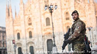 Παρουσία του στρατού στο Μιλάνο