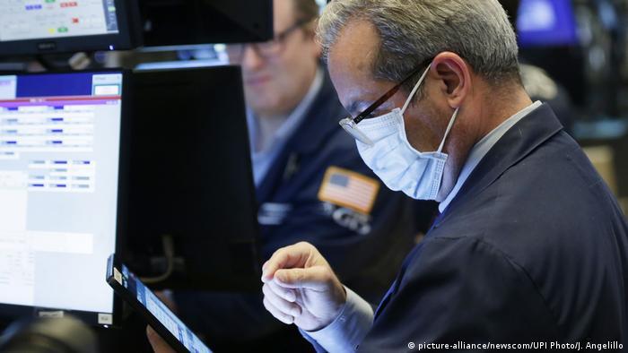 USA New Yorker Börse an der Wall Street