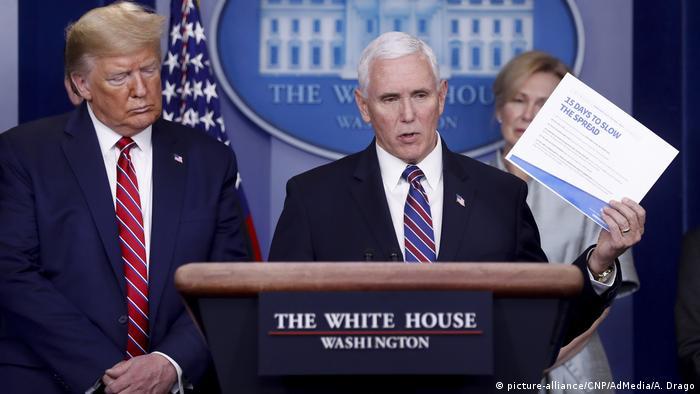 USA Vizepräsident Mike Pence